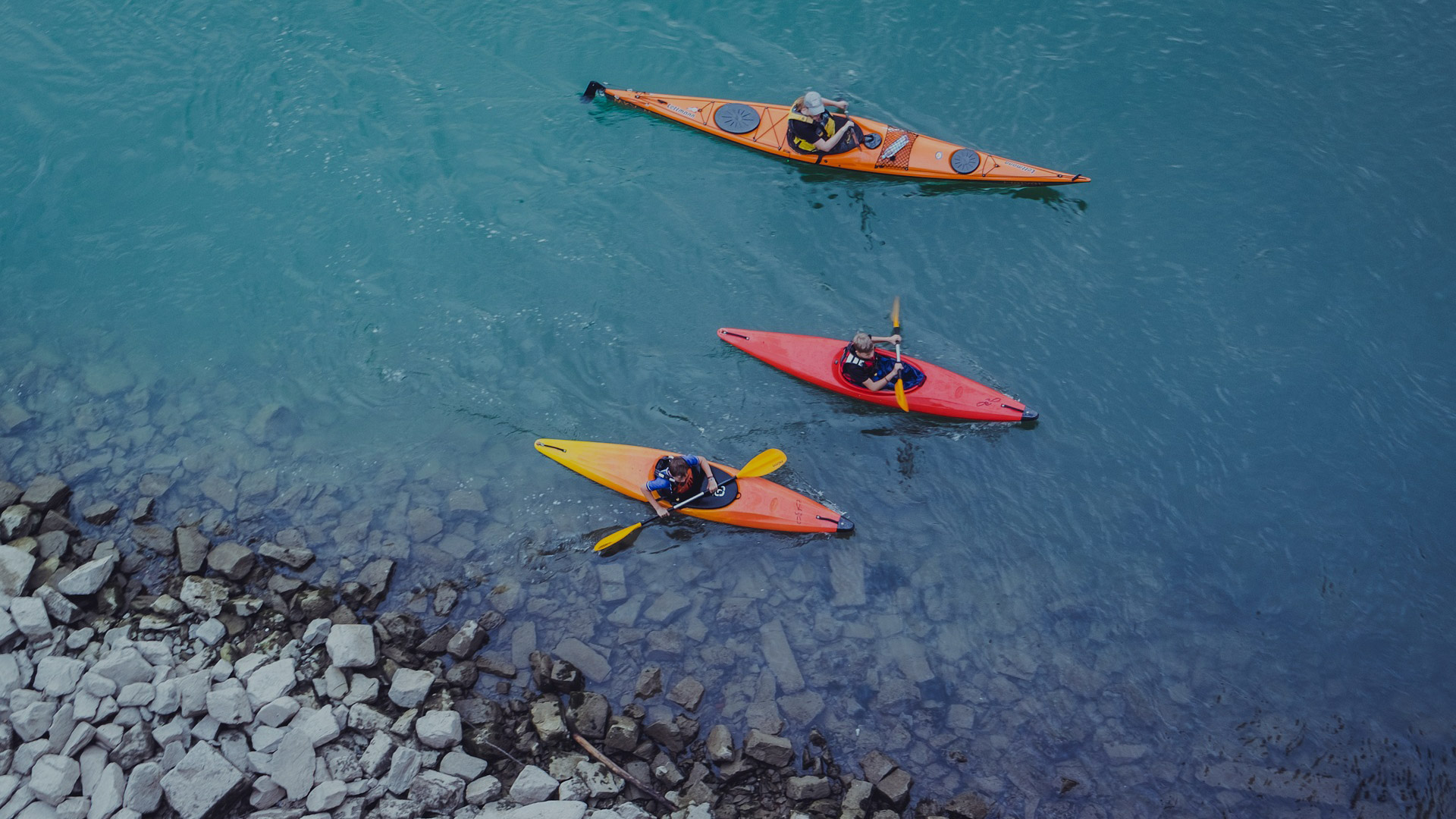 ESCAPE with Touring Kayaks